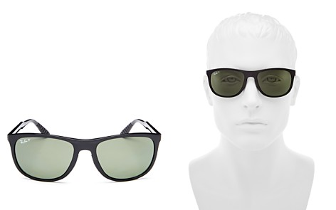 Ray-Ban Youngster Polarized Square Sunglasses, 58mm - Bloomingdale's_2
