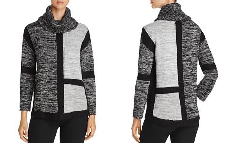 Heather B Tonal Color-Block Sweater - Bloomingdale's_2