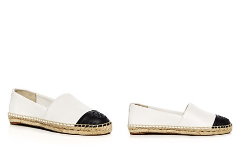 Tory Burch Women's Leather Color Block Espadrille Flats - Bloomingdale's_2