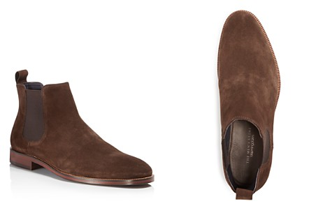 The Men's Store at Bloomingdale's Men's Suede Chelsea Boots - 100% Exclusive_2
