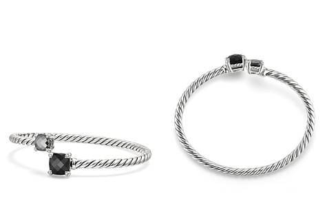 David Yurman Châtelaine Bypass Bracelet with Black Onyx, Hematine & Diamonds - Bloomingdale's_2