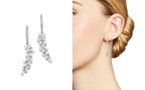 Bloomingdale's Diamond Cascade Drop Earrings in 14K White Gold, 1.90 ct. t.w. - 100% Exclusive _2