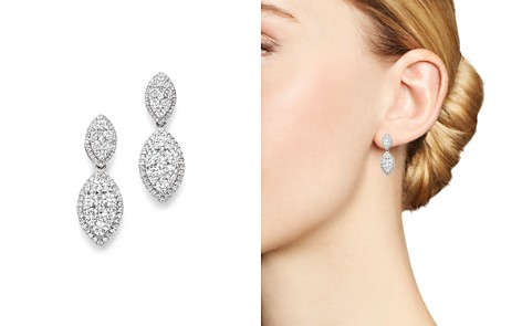Bloomingdale's Diamond Drop Earrings in 14K White Gold, 2.20 ct. t.w. - 100% Exclusive _2