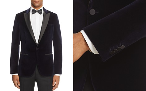 HUGO C-Hadley Velvet Slim Fit Tuxedo Jacket - Bloomingdale's_2