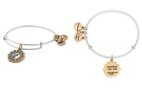 Alex and Ani Two-Tone Zodiac Expandable Wire Bangle - Bloomingdale's_2