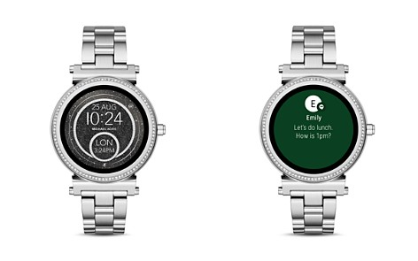 Michael Kors Sofie Stainless Steel Touchscreen Smartwatch, 42mm - Bloomingdale's_2