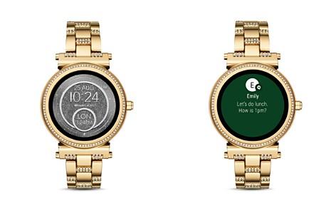 Michael Kors Sofie Pavé Touchscreen Smartwatch, 42mm - Bloomingdale's_2
