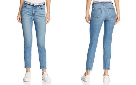 IRO.JEANS Jones Sequin-Waist Skinny Jeans in Stone Blue - Bloomingdale's_2