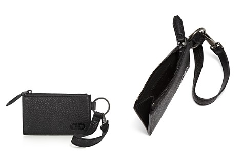 Salvatore Ferragamo Firenze Pebbled Leather Zip Wallet - Bloomingdale's_2