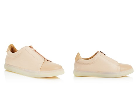 Pairs in Paris Women's Belleville Leather & Suede Zipped Sneakers - 100% Exclusive - Bloomingdale's_2