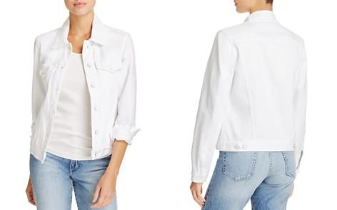 J Brand Slim Denim Jacket in Optic White - Bloomingdale's_2