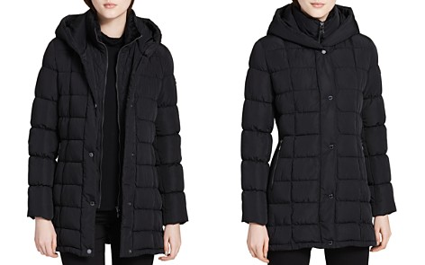 Calvin Klein Hooded Down Coat - Bloomingdale's_2