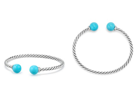 David Yurman Solari Bracelet with Diamonds & Reconstituted Turquoise - Bloomingdale's_2