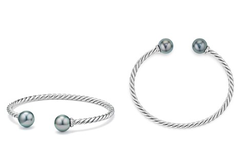 David Yurman Solari Bracelet with Diamonds & Cultured Tahitian Gray Pearl - Bloomingdale's_2