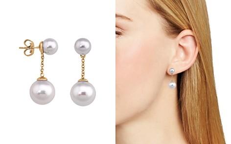 Majorica Simulated Pearl Round Drop Earrings - Bloomingdale's_2