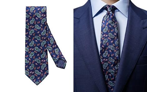 Eton Paisley Pines Classic Tie - Bloomingdale's_2