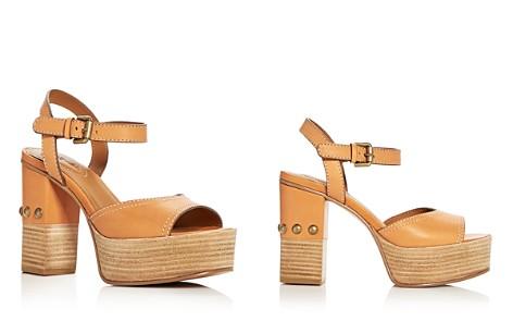 See by Chloé Women's Leather High-Heel Platform Sandals - Bloomingdale's_2
