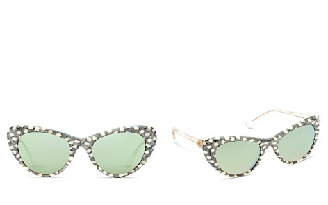 Krewe Irma Mirrored Cat Eye Sunglasses, 51mm - Bloomingdale's_2