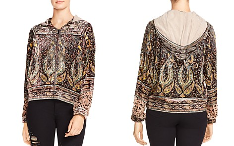 Haute Hippie Sahara Embellished Track Jacket - Bloomingdale's_2