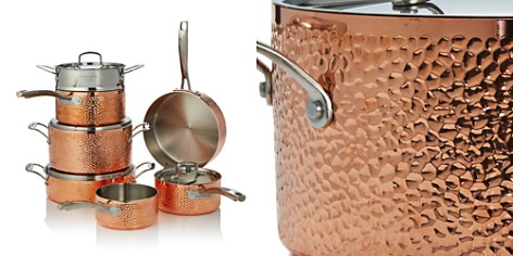 Cuisinart Hammered Copper Triply 11-Piece Set - 100% Exclusive - Bloomingdale's_2