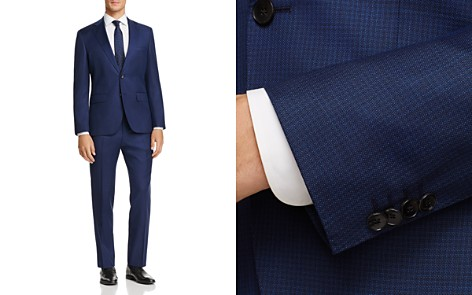 BOSS Johnstons/Lenon Regular Fit Textured Solid Suit - Bloomingdale's_2