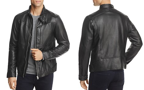 G-STAR RAW Deline Leather Jacket - Bloomingdale's_2