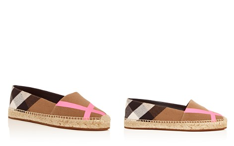 Burberry Women's Hodgeson House Check Espadrille Flats - Bloomingdale's_2