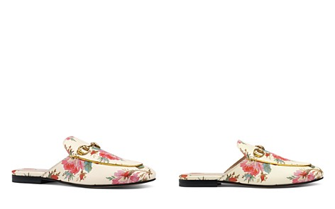 Gucci Women's Princetown Floral Mules - Bloomingdale's_2