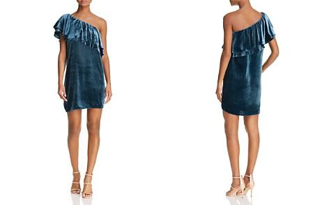 WAYF Dillion One-Shoulder Velvet Dress - 100% Exclusive - Bloomingdale's_2