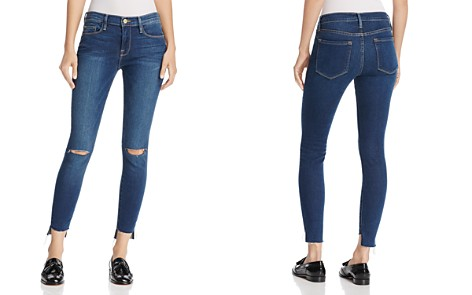 FRAME Le Skinny de Jeanne Jeans in Columbia Road - 100% Exclusive - Bloomingdale's_2