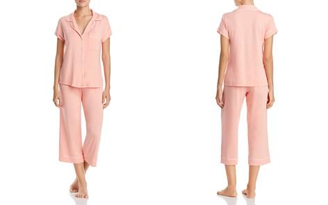 Eberjey Gisele Short Sleeve Crop Pajama Set - Bloomingdale's_2