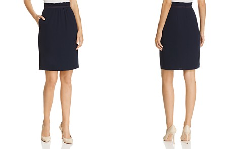 Emporio Armani Cinched-Waist Pencil Skirt - Bloomingdale's_2