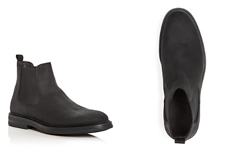 A.Testoni Men's Waterproof Nubuck Leather Chelsea Boots - Bloomingdale's_2
