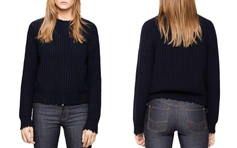 Zadig & Voltaire Kary Wool-Blend Sweater - Bloomingdale's_2