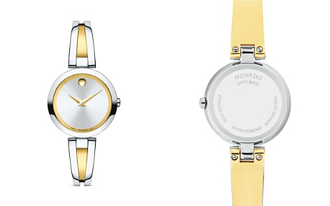 Movado Aleena Two-Tone Watch, 27mm - Bloomingdale's_2