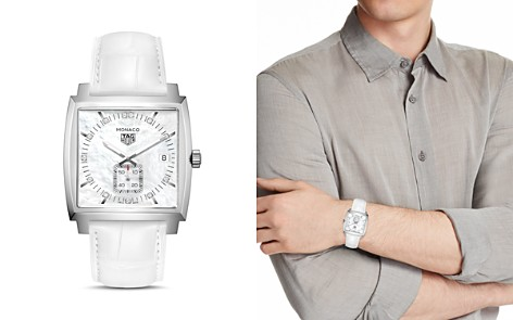Tag Heuer Monaco Diamond Watch, 37mm - Bloomingdale's_2