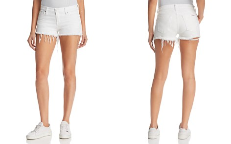 Hudson Kenzie Cutoff Denim Shorts in White - Bloomingdale's_2