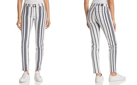 Hudson Barbara High-Rise Ankle Skinny Jeans in Undertaking - Bloomingdale's_2