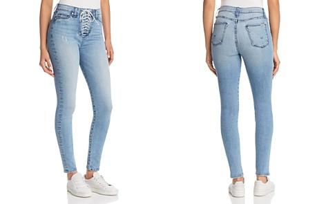 Hudson Bullocks Skinny Lace-Up Jeans in Guilty Pleasure - Bloomingdale's_2