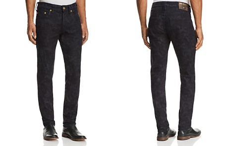 True Religion Rocco Slim Fit Jeans in Midnight Camouflage - Bloomingdale's_2