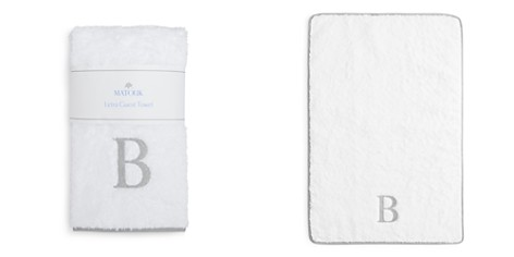 Matouk Letra Monogram Guest Towel - 100% Exclusive - Bloomingdale's_2