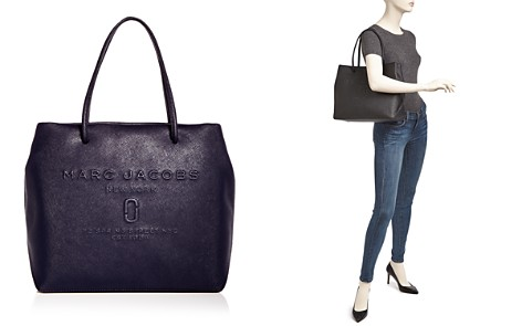 MARC JACOBS Logo East/West Leather Tote - Bloomingdale's_2