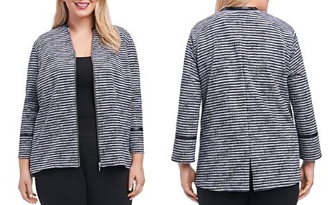Foxcroft Plus Irina Sweater-Knit Jacket - Bloomingdale's_2