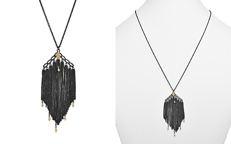 """Armenta 18K Yellow Gold & Sterling Silver Old World Cravelli Tassel Necklace with Champagne Diamonds, 28"""" - Bloomingdale's_2"""