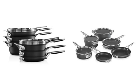 Calphalon Premier Space Saving Hard Anodized Nonstick 10-Piece Cookware Set - Bloomingdale's_2