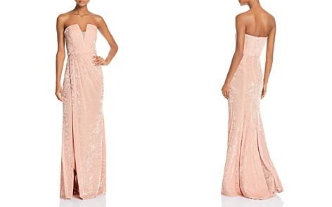 Avery G Strapless Velvet Gown - Bloomingdale's_2