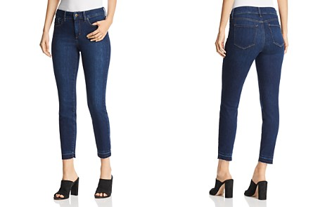 NYDJ Petites Ami Skinny Released Hem Ankle Jeans in Cooper - Bloomingdale's_2
