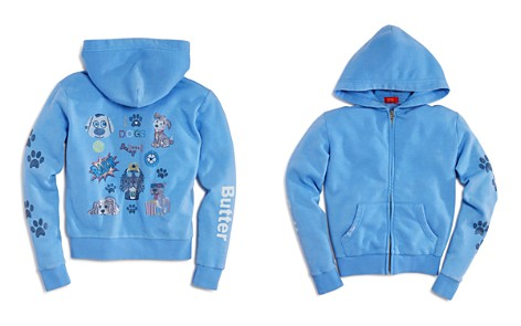 Butter Girls' I Love Dogs Zip-Up Hoodie - Little Kid - Bloomingdale's_2