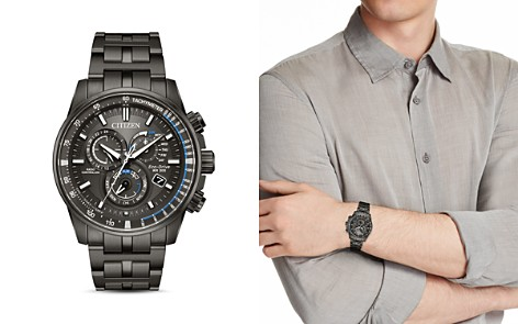 Citizen Perpetual Chrono A-T Watch, 42.5mm - Bloomingdale's_2