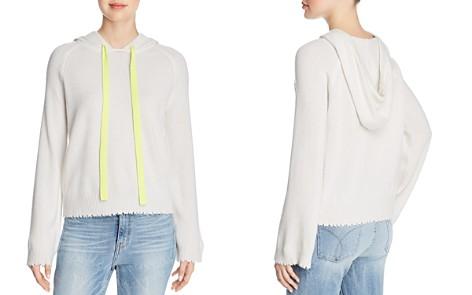 Minnie Rose Distressed Cashmere Hooded Sweatshirt - Bloomingdale's_2